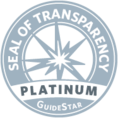 The Platinum Seal is Guidestar's highest rating