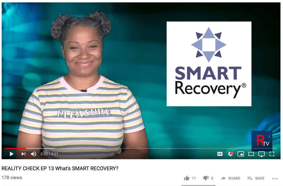 SMART Recovery Featured on YouTube Show Reality Check