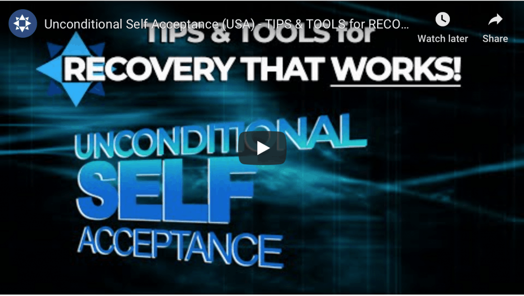 Unconditional Self Acceptance - Helpful Video
