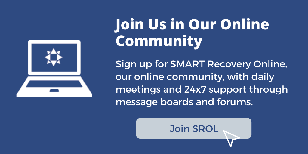 Sign Up for SROL SMART Recovery Online